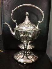 Silver Plated Spirit Tea Kettle Art Nouveau Rogers Bros American