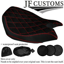 DSG4 RED ST CUSTOM FOR DUCATI PANIGALE 899 1199 FRONT SEAT COVER + WSP