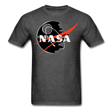 NASA  Star Black Logo Wars Space T-shirt Funny shirt mens Plus sizes