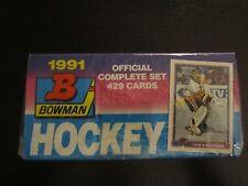 1991 Bowman NHL Hockey Factory Set