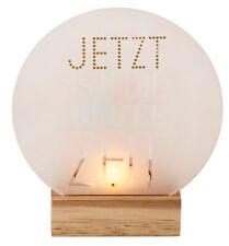 """Glaspoesie Teelicht """"Jetzt ist die beste Zeit"""" - Räder Design"""