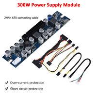 300W 12V DC ATX PSU Modular Power Supply Board 24Pin for HTPC Mini-ITX Mainboard
