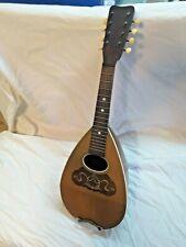 Vintage N.B. CURTISS Round Back Mandolin antique music