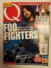 Q magazine Dec 2005 Foo Fighters cover Intact Oasis Coldplay Little Britain