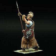 Tin Soldier, top, Carthaginian hoplite, bugler, Hannibal Barca, Punic War, 132