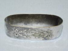 Silver Plated Regula Schmid Napkin Holder_3279
