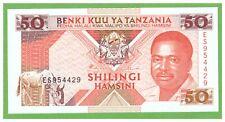 TANZANIA - 50 SHILINGS - 1993 - P-23 - UNC - REAL FOTO