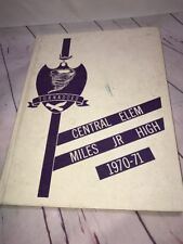 1970 TORNADO - UNION CITY Central Elementary Miles JR YEARBOOK - UNION CITY, TN