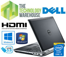 DELL LATITUDE E6430 LAPTOP - i5 CPU, 4 OR 8GB RAM, 128GB SSD, WINDOWS 7 OR 10