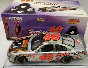 STERLING MARLIN 2001 KISS BAND / COORS LIGHT 1/24 ACTION DIECAST CAR 1/27,108