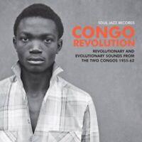 Soul jazz presents  CONGO REVOLUTION  2 x vinyl lp SJRLP437