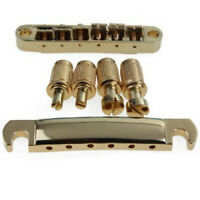 Gold Abr-1 Bruecke Tune-o-matic E Saitenhalter fuer Gibson Les Paul und Gitarre