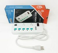 ENERGY SAVER SURGE PROTECTOR POWER STRIP 8 OUTLET MANAGED 900J