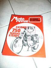 MOTO REVUE n° 2069  1972   750 yamaha 4 temps