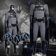 High Quality Original Batman Bruce wayne Cosplay Costume Full Suit Customized