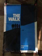THE WALK ORIGINAL 27x40 MOVIE POSTER (2015) GORDON-LEVITT & LE BON