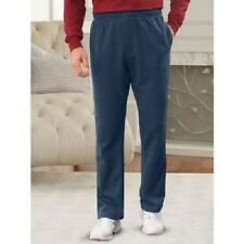 Men's Sweat Pants by Haband Active Joe Navy Small Large Inseam Long Legs Comfy