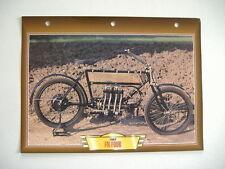 CARTE FICHE MOTO FN FOUR 1907