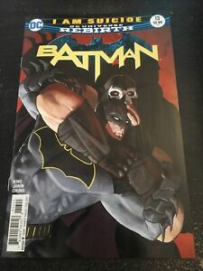 Batman#13 Incredible Condition 9.4(2017) Vs Bane , Janin Cover