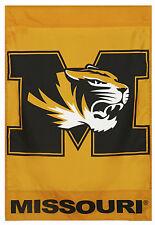 "New listing University of Missouri Tigers House Flag Mizzou Ncaa Licensed 28"" x 40"""