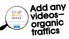 Add any videos to your site to bring organic traffics