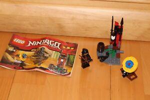 Lego Ninjago - Ninja Cole Aussenposten Set 2516 mit Bauanleitung