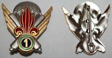 insigne de la 1ère compagnie  étrangère parachutiste des mortiers lourds