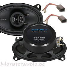 Crunch DSX-462 10x15 cm 2 Wege Lautsprecher Set Boxen hinten für Polo 86C Golf 2