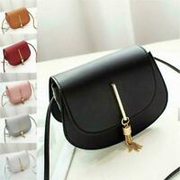 Women PU Leather Small Shoulder Bag Envelope Crossbody Messenger Handbag A9M8