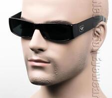 Triple Crown LOC OG Gangster Sunglasses Super Dark Lenses Black Melee