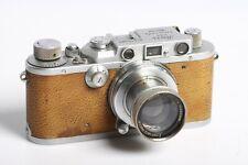 Leica III D.R.P. mit braun Belederung + Leica Leitz Wetzlar SUMMAR 2/50cm Lens