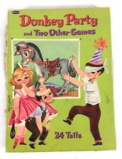 Vintage 1941 Donkey Party and two other Games Box Complete  #A14