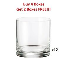 Libby 31cl ***BOX of 12*** Clear Glass Drinkware Candle Tumbler Whiskey 310ml