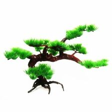 Aquarium Decoration Pine Trees Ornaments Rock Bonsai Plant Fish Tank Accessories