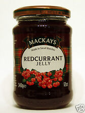 MACKAYS Redcurrant Jelly 340g, Made in Small Batches
