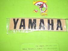"NOS Yamaha Universal Black Gas Tank Sticker   Measures 7 "" x  1 1/2 """