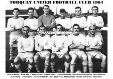 TORQUAY UNITED F.C.TEAM PRINT 1964 (STUBBS / NORTHCOTT / BETTANY)