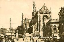 HAARLEM ( Netherlands) : Groote Markt met Groote Kerk RP-HEMO