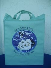 Wholesale Lot 2240 Polar Bear grocery/shopping tote bags
