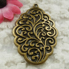 Free Ship 10 pieces bronze plated cute pendant 54x35mm #1823