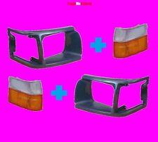 Toyota Hiace 89-92 Indicator Corner Lights Plastic Covers Surrounds Right Left