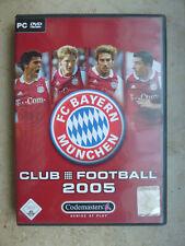 FC Bayern München Club Football 2005 von Codemasters   PC-Game  lizensiert