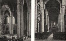 VIENNE. Intérieur de cathédrale St- Pierre; Église- hilaire- le  1900 print