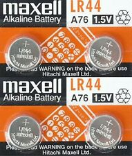 Lot 4 LR44 A76 AG13 L1154 G13 V13GA 1.5V Micro Alkaline coin cell button Battery