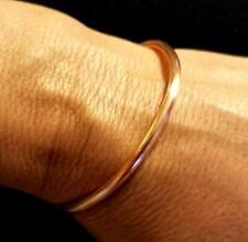 Solid Copper Bracelet Bangle Men Women Artisan Unisex