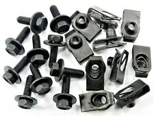 GM Truck Body Bolts & U-nut Clips- M6-1.0 x 20mm- 10mm Hex- 20 pcs (10ea)- #150