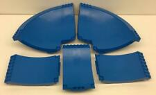 5 Lego Blue Skateboard Ramps Lot: Sports 43086 43085 3433 NBA Ultimate Arena