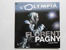 ► FLORENT PAGNY  A L'OLYMPIA 2003 CONCERT MYTHIQUE - UNIVERSAL MUSIC FRANCE