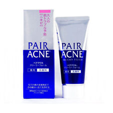 Japan Lion PAIR ACNE Medicated Acne Care Face Wash Creamy Foam 80g 日本狮王祛痘洁面乳