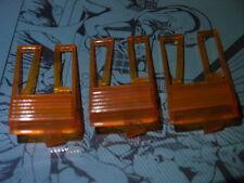 Pièce de monnaie porte rejeter boutons orange (3pcs) Arcade Machine Flipper FLIPPER neuf NOS